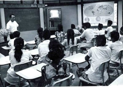 High school classroom.1