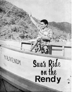 Sua's Ride On the Rendy 1