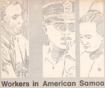 Workers in American Samoa